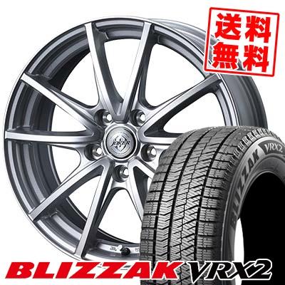 205/70R15 BRIDGESTONE ブリヂストン BLIZZAK VRX2 ブリザック VRX2 JOKER HUNTER ジョーカー ハンター スタッドレスタイヤホイール4本セット