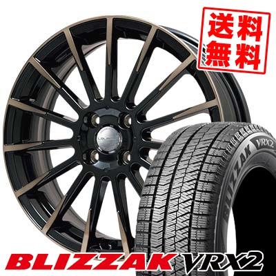 165/65R14 BRIDGESTONE ブリヂストン BLIZZAK VRX2 ブリザック VRX2 Leyseen F-XV レイシーン FX-V スタッドレスタイヤホイール4本セット
