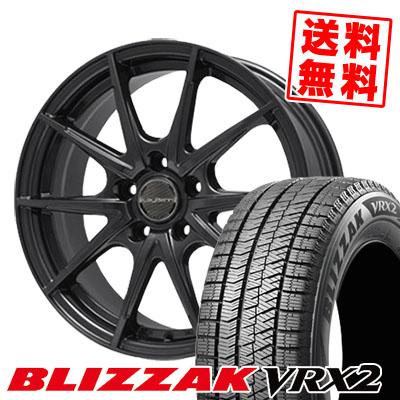 205/70R15 BRIDGESTONE ブリヂストン BLIZZAK VRX2 ブリザック VRX2 LeyBahn WGS レイバーン WGS スタッドレスタイヤホイール4本セット