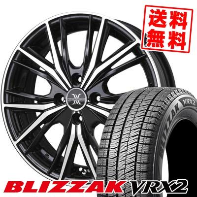 145/65R15 BRIDGESTONE ブリヂストン BLIZZAK VRX2 ブリザック VRX2 BADX LOXARNY MAGNUS バドックス ロクサーニ マグナス スタッドレスタイヤホイール4本セット