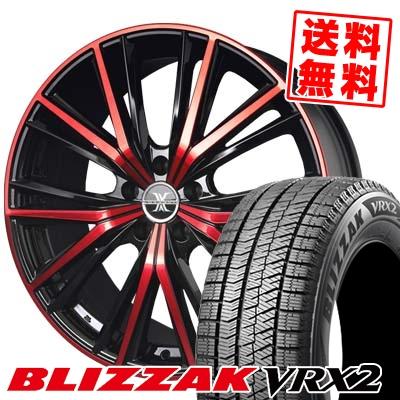 215/45R18 BRIDGESTONE ブリヂストン BLIZZAK VRX2 ブリザック VRX2 BADX LOXARNY MAGNUS バドックス ロクサーニ マグナス スタッドレスタイヤホイール4本セット