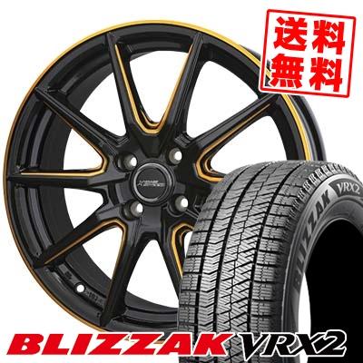 155/55R14 BRIDGESTONE ブリヂストン BLIZZAK VRX2 ブリザック VRX2 CROSS SPEED PREMIUM RS10 クロススピード プレミアム RS10 スタッドレスタイヤホイール4本セット
