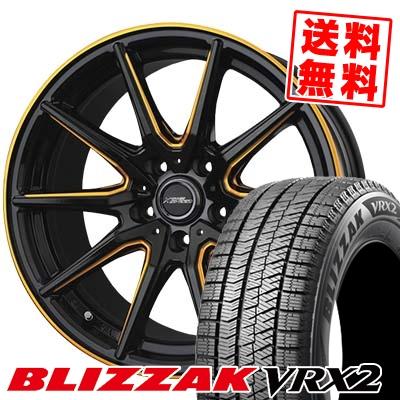 235/50R17 BRIDGESTONE ブリヂストン BLIZZAK VRX2 ブリザック VRX2 CROSS SPEED PREMIUM RS10 クロススピード プレミアム RS10 スタッドレスタイヤホイール4本セット【取付対象】