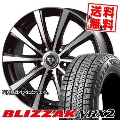 185/60R14 BRIDGESTONE ブリヂストン BLIZZAK VRX2 ブリザック VRX2 Razee XV レイジー XV スタッドレスタイヤホイール4本セット