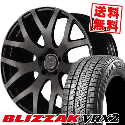235/40R18 BRIDGESTONE ブリヂストン BLIZZAK VRX2 ブリザック VRX2 RAYS WALTZ FORGED S7 レイズ ヴァルツ フォージド S7 スタッドレスタイヤホイール4本セット