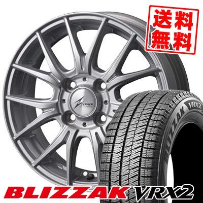 175/60R15 BRIDGESTONE ブリヂストン BLIZZAK VRX2 ブリザック VRX2 ZEPHYR M2 ゼファー M2 スタッドレスタイヤホイール4本セット