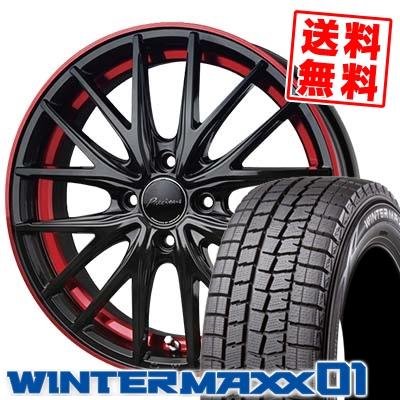 185/60R15 DUNLOP ダンロップ WINTER MAXX 01 WM01 ウインターマックス 01 Precious AST M1 プレシャス アスト M1 スタッドレスタイヤホイール4本セット