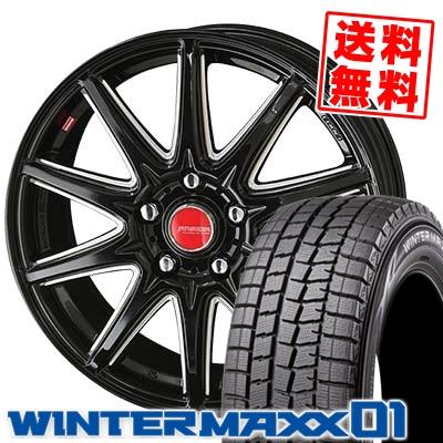215/70R15 DUNLOP ダンロップ WINTER MAXX 01 WM01 ウインターマックス 01 RIVAZZA CORSE リヴァッツァ コルセ スタッドレスタイヤホイール4本セット【取付対象】