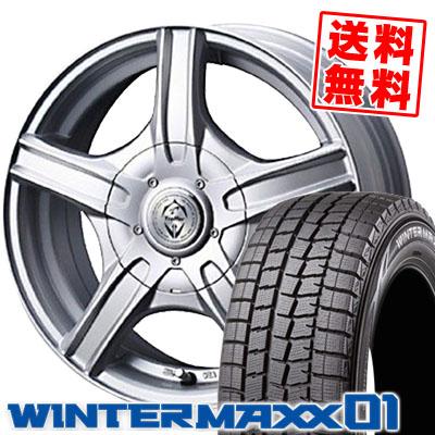 ウインターマックス 01 WM01 175/65R14 82Q トレファーMH シルバー スタッドレスタイヤホイール 4本 セット