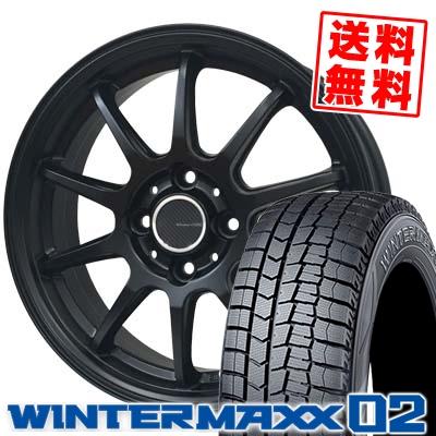 165/65R15 81Q DUNLOP ダンロップ WINTER MAXX 02 WM02 ウインターマックス 02 LCZ 010R LCZ 010R スタッドレスタイヤホイール4本セット