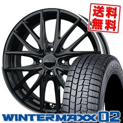 155/55R14 DUNLOP ダンロップ WINTER MAXX 02 WM02 ウインターマックス 02 Precious AST M1 プレシャス アスト M1 スタッドレスタイヤホイール4本セット【取付対象】