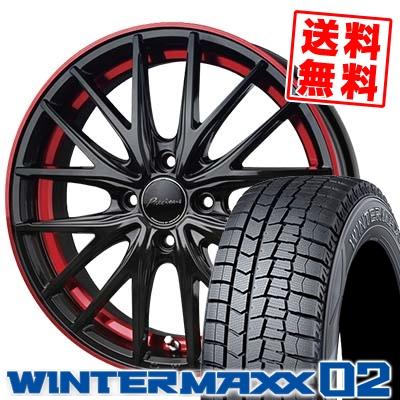175/60R15 DUNLOP ダンロップ WINTER MAXX 02 WM02 ウインターマックス 02 Precious AST M1 プレシャス アスト M1 スタッドレスタイヤホイール4本セット