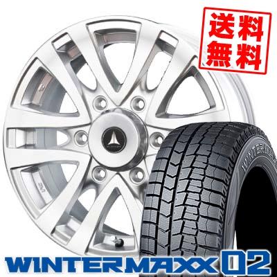 215/70R15 98Q DUNLOP ダンロップ WINTER MAXX 02 ウインターマックス 02 MUD CLIFF マッドクリフ スタッドレスタイヤホイール4本セット