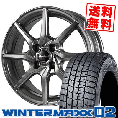 175/65R14 82Q DUNLOP ダンロップ WINTER MAXX 02 WM02 ウインターマックス 02 EuroSpeed G810 ユーロスピード G810 スタッドレスタイヤホイール4本セット