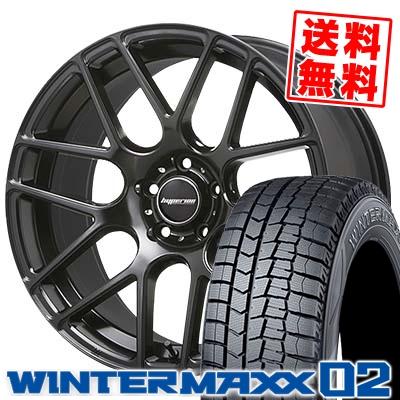 245/45R19 DUNLOP ダンロップ WINTER MAXX 02 WM02 ウインターマックス 02 HYPERION CVM ハイペリオン CVM スタッドレスタイヤホイール4本セット