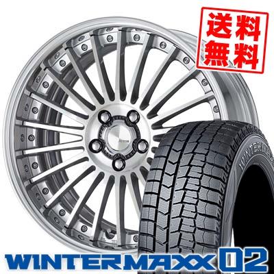 245/40R18 DUNLOP ダンロップ WINTER MAXX 02 WM02 ウインターマックス 02 WORK LANVE