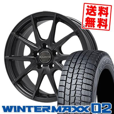 245/40R18 DUNLOP ダンロップ WINTER MAXX 02 WM02 ウインターマックス 02 LeyBahn WGS レイバーン WGS スタッドレスタイヤホイール4本セット【取付対象】