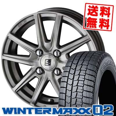 SEIN WM02 MAXX ダンロップ SS スタッドレスタイヤホイール4本セット【取付対象】 02 DUNLOP エスエス 185/65R15 ザイン 88Q 02 ウインターマックス WINTER