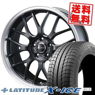 235/65R17 MICHELIN ミシュラン LATITUDE X-ICE XI2 ラティチュード エックスアイス XI2 Eoro Sport Type 805 ユーロスポーツ タイプ805 スタッドレスタイヤホイール4本セット