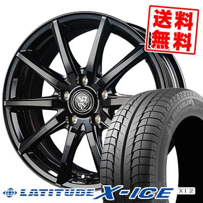 215/70R16 100T MICHELIN ミシュラン LATITUDE X-ICE XI2 ラティチュード エックスアイス XI2 TRG-GB10 TRG GB10 スタッドレスタイヤホイール4本セット