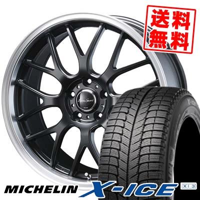 225/50R18 MICHELIN ミシュラン X-ICE XI3 エックスアイス XI-3 Eoro Sport Type 805 ユーロスポーツ タイプ805 スタッドレスタイヤホイール4本セット