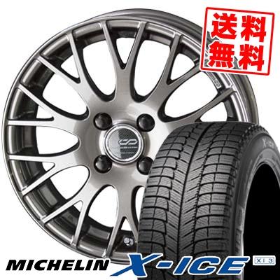 185/60R15 88H MICHELIN ミシュラン X-ICE XI3 エックスアイス XI-3 ENKEI CREATIVE DIRECTION CDM2 エンケイ クリエイティブ ディレクション CD-M2 スタッドレスタイヤホイール4本セット