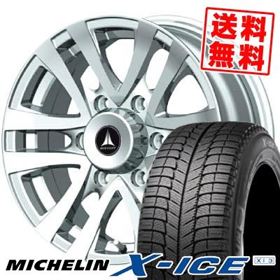 エックスアイス XI3 215/70R15 98T マッドクリフ シルバー スタッドレスタイヤホイール 4本 セット