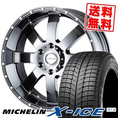 225/50R18 MICHELIN ミシュラン X-ICE XI3 エックスアイス XI-3 Reverson DR8 レベルソン DR8 スタッドレスタイヤホイール4本セット