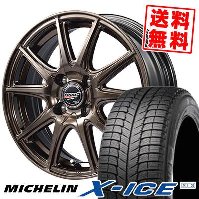 165/55R14 72H MICHELIN ミシュラン X-ICE XI3 エックスアイス XI-3 FINALSPEED GR-Volt ファイナルスピード GRボルト スタッドレスタイヤホイール4本セット