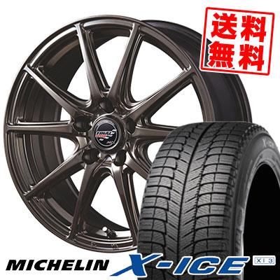 225/50R18 99H MICHELIN ミシュラン X-ICE XI3 エックスアイス XI-3 FINALSPEED GR-Volt ファイナルスピード GRボルト スタッドレスタイヤホイール4本セット