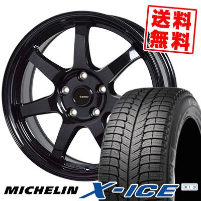 195/60R15 92H MICHELIN ミシュラン X-ICE XI3 エックスアイス XI-3 G.speed G-03 Gスピード G-03 スタッドレスタイヤホイール4本セット