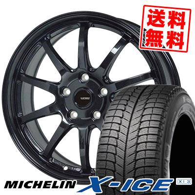 205/70R15 96T MICHELIN ミシュラン X-ICE XI3 エックスアイス XI-3 G.speed G-04 Gスピード G-04 スタッドレスタイヤホイール4本セット