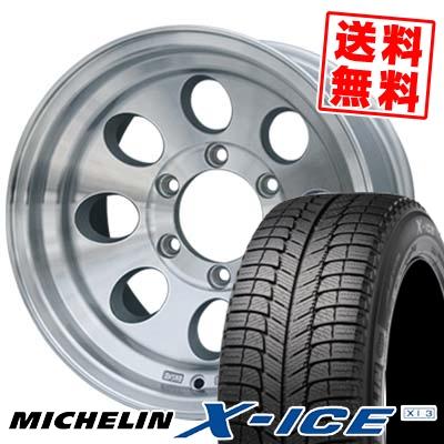 235/60R16 MICHELIN ミシュラン X-ICE XI3 エックスアイス XI-3 JIMLINE TYPE2 ジムライン タイプ2 スタッドレスタイヤホイール4本セット