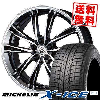 245/40R18 MICHELIN ミシュラン X-ICE XI3 エックスアイス XI-3 Kashina XV5 カシーナ XV5 スタッドレスタイヤホイール4本セット