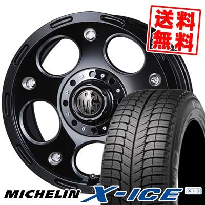 16インチ MICHELIN ミシュラン 手数料無料 X-ICE XI3 SEAL限定商品 エックスアイス XI-3 235 60 スタッドレスホイールセット デーモン 16 スタッドレスタイヤホイール4本セット 取付対象 235-60-16 DEMON MG 60R16