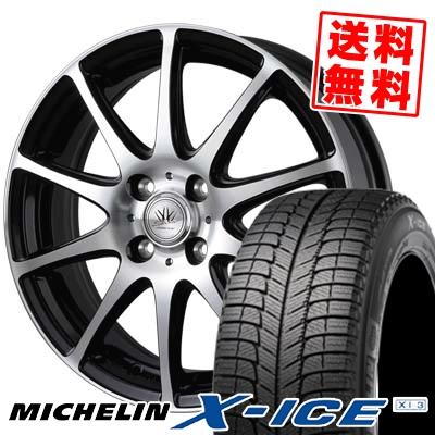 155/65R13 MICHELIN ミシュラン X-ICE XI3 エックスアイス XI-3 BADX LOXARNY SPORT RS-10 バドックス ロクサーニ スポーツ RS-10 スタッドレスタイヤホイール4本セット