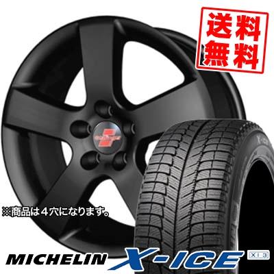 185/55R15 86H MICHELIN ミシュラン X-ICE XI3 エックスアイス XI3 oettinger RX エッティンガーRX スタッドレスタイヤホイール4本セット【 for VW 】
