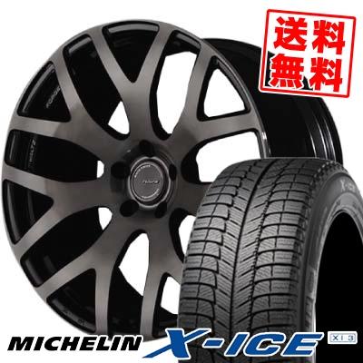 245/50R18 MICHELIN ミシュラン X-ICE XI3 エックスアイス XI-3 RAYS WALTZ FORGED S7 レイズ ヴァルツ フォージド S7 スタッドレスタイヤホイール4本セット