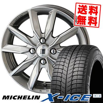175/65R14 86T MICHELIN ミシュラン X-ICE XI3 エックスアイス XI-3 SEIN SV ザイン エスブイ スタッドレスタイヤホイール4本セット