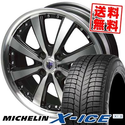 185/55R15 MICHELIN ミシュラン X-ICE XI3 エックスアイス XI-3 STEINER VS-5 シュタイナー VS5 スタッドレスタイヤホイール4本セット