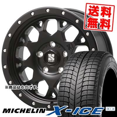 235/60R16 MICHELIN ミシュラン X-ICE XI3 エックスアイス XI-3 XTREME-J XJ04 エクストリームJ XJ-04 スタッドレスタイヤホイール4本セット