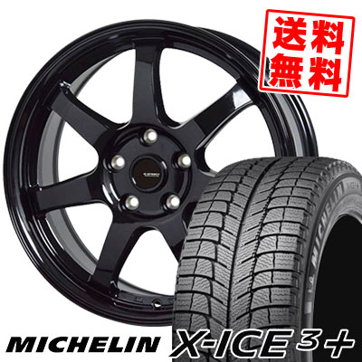 205/55R16 94H XL MICHELIN ミシュラン X-ICE3+ XI3PLUS エックスアイス3プラス G.speed G-03 Gスピード G-03 スタッドレスタイヤホイール4本セット