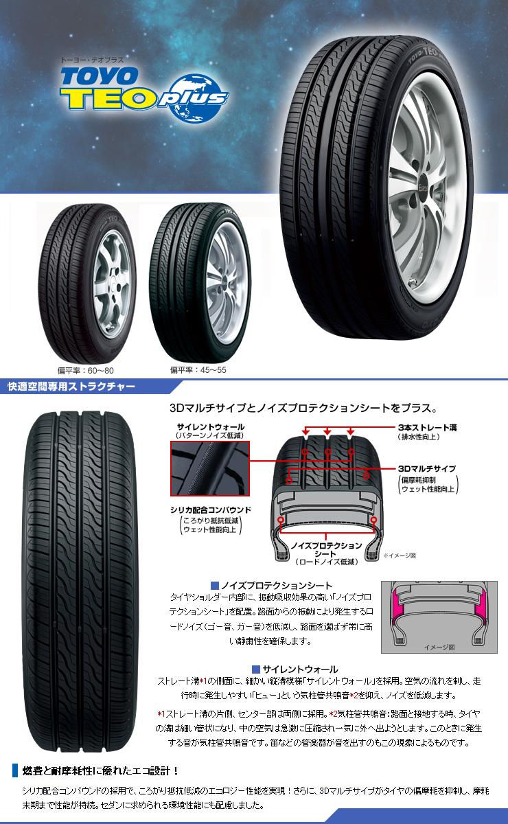 楽天市場 155 65r13 73s toyo tires トーヨー タイヤ teo plus