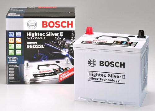 ボッシュバッテリー/ハイテックッシルバーIIBOSCHボッシュHTSS-75B24L(R)サイズ:238(L) X 129(W) X 203(H)