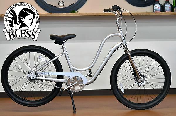 【BLESSブレス自転車】BLESS SHO 3i raw/ショウ・ロウ ブレス ビーチクルーザー