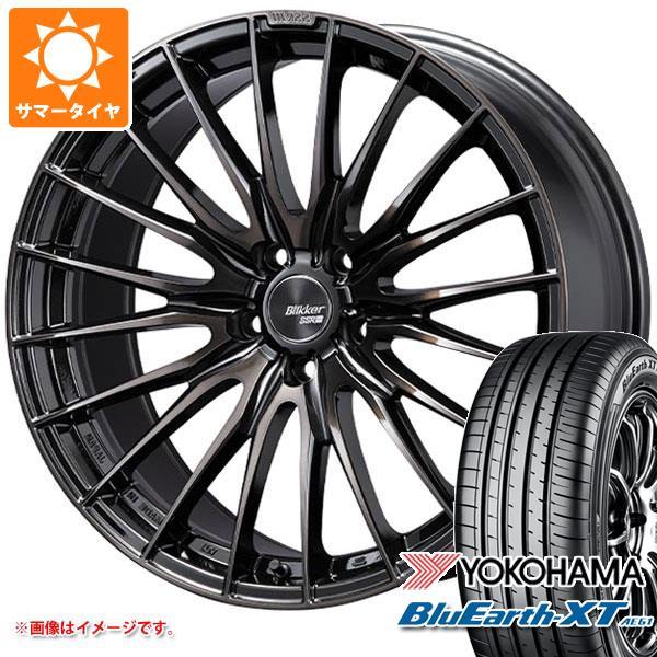 サマータイヤ 235/55R19 101V ヨコハマ ブルーアースXT AE61 SSR ブリッカー 01F 8.0-19 タイヤホイール4本セット