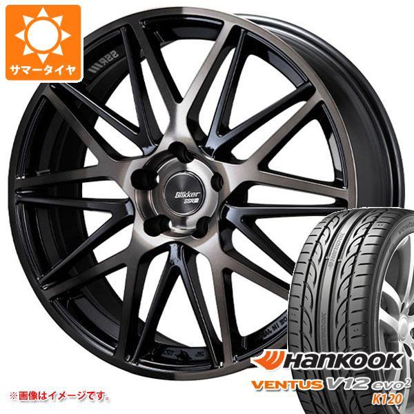 サマータイヤ 215/40R17 87Y XL ハンコック ベンタス V12evo2 K120 SSR ブリッカー 01M 7.0-17 タイヤホイール4本セット