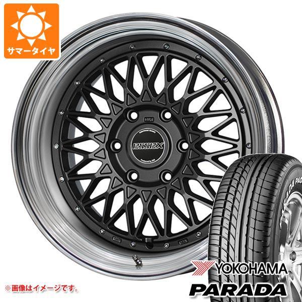 ハイエース 200系専用 サマータイヤ ヨコハマ パラダ PA03 215/60R17C 109/107S ホワイトレター エセックス ENCM 2P 6.5-17 タイヤホイール4本セット
