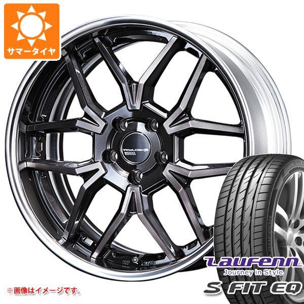 サマータイヤ 235/35R19 91Y XL ラウフェン Sフィット EQ LK01 SSR エグゼキューター EX06 8.0-19 タイヤホイール4本セット