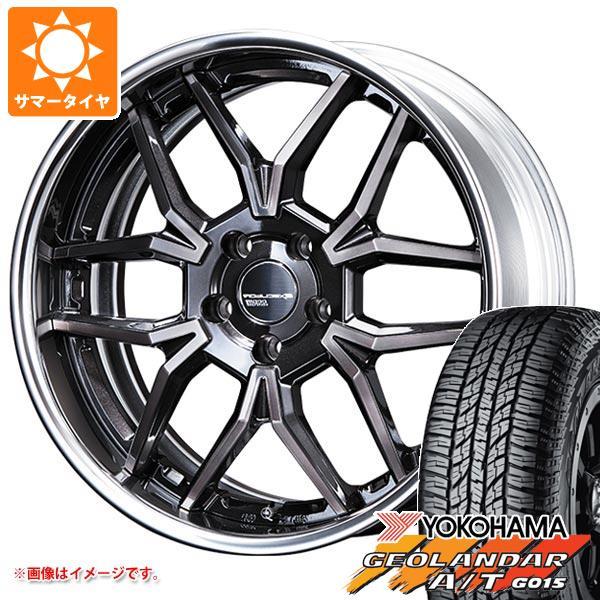 サマータイヤ 235/55R19 105H XL ヨコハマ ジオランダー A/T G015 ブラックレター SSR エグゼキューター EX06 8.0-19 タイヤホイール4本セット